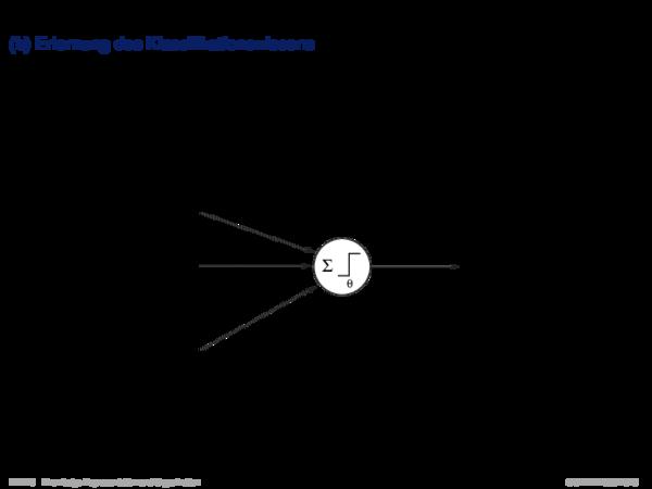Wissensrepräsentation in der Klassifikation (b) Erlernung des Klassifikationswissens