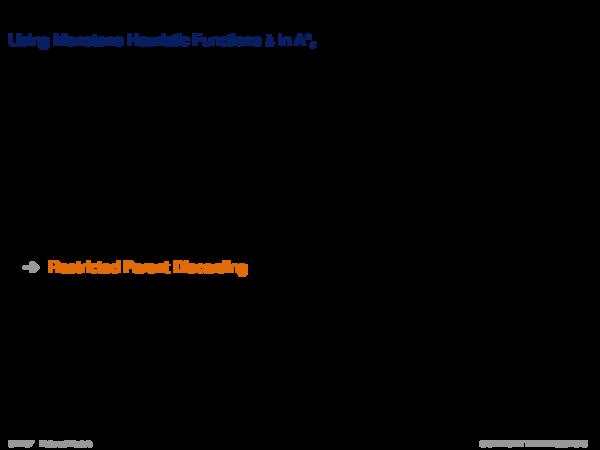 ε-Admissible Speedup Versions of A* Example: Monotone Heuristic Function h in A*ε