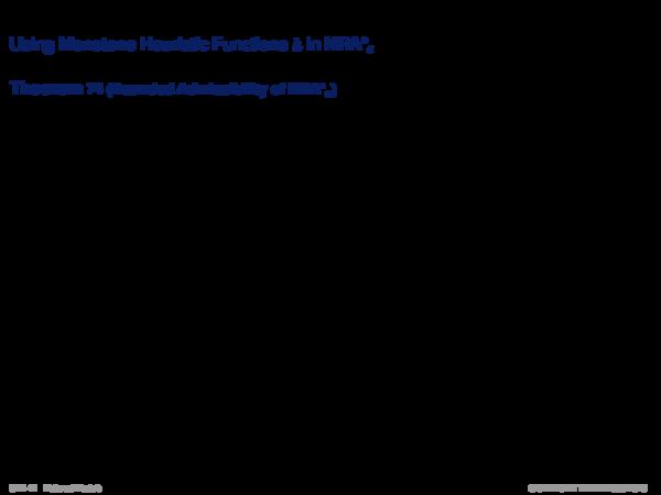 ε-Admissible Speedup Versions of A* Using Monotone Heuristic Functions h in NRA*ε