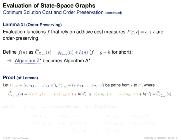 Evaluation of AND-OR Graphs Illustration of C ∗