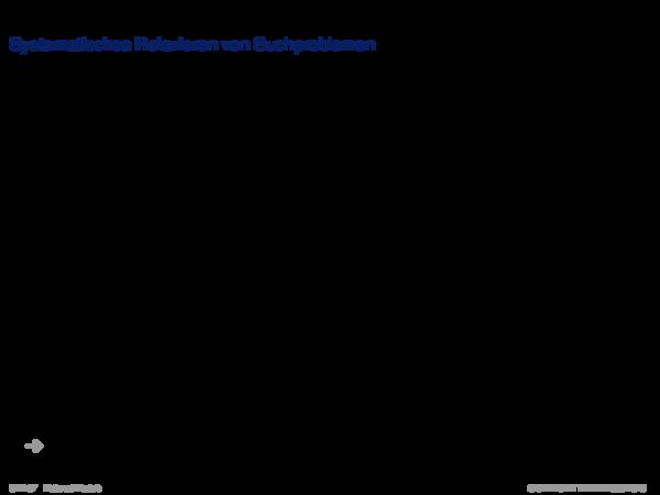 Automatische Generierung von Heuristiken Systematisches Relaxieren von Suchproblemen