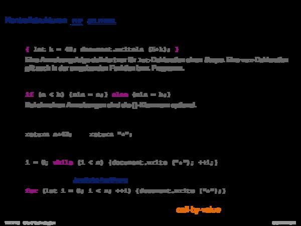 JavaScript Funktionsbibliothek