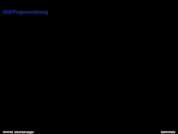 Java Applet GUI-Programmierung
