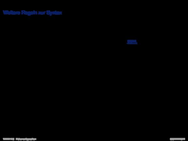 XML-Grundlagen Weitere Regeln zur Syntax