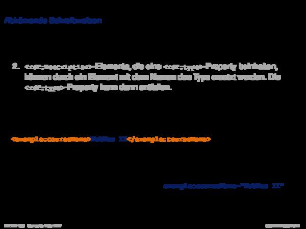 RDF: XML-Syntax Abkürzende Schreibweisen